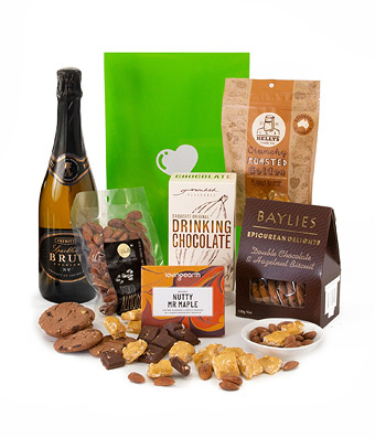 Sparkling Wine Hamper - Click to order