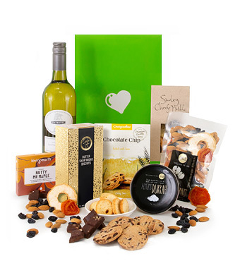 White Wine Hamper - Click to order